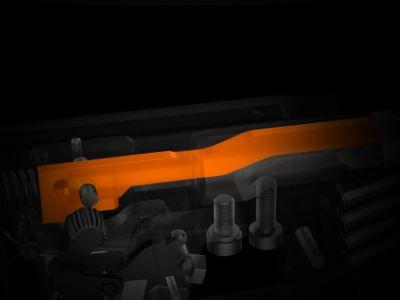 CZ 457-pienoiskivääreissä on uusi kevennetty iskuri.