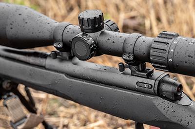 Mauser M18:n mukana tulee Hexa-Lock-pikajalka.